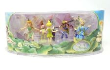 RARE Disney Fairies Disney Store Exclusive Tinkerbell Figurine Set New