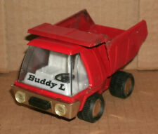 """1/38 Scale Buddy-L Dump Truck Toy 5"""" Vintage 1970's Pressed Steel Play Vehicle"""