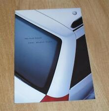 Volkswagen VW Golf Mk4 Estate Brochure 2000 1.4 1.6 2.0 1.9 TDI E S SE 2.3 V5