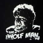 PATCH - The Wolf Man - canvas screen print HORROR - Universal Monsters Wolfman