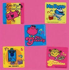 10 Mr. Men Little Miss Large Stickers - Party Favors - Rewards