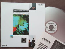SWING OUT SISTER Kaleidoscope World JAPAN Laser Disc LD VAL-3120 w/INSERT FreeSH