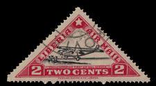 "LIBERIA C3B - First National Air Mail Service ""Waco Airplane"" (pb26013)"