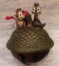 DISNEY CHIP AND DALE TREE NUT CHRISTMAS SKETCHBOOK ORNAMENT - NEW