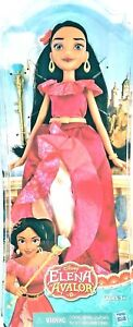 """DISNEY AUTHENTIC ELENA OF AVALOR DOLL With ACCESSORY  11"""" HEIGH Ages 3+ NEW"""