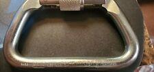 SMC Rescue Screw Lock Steel Large Heavy Duty Carabiner New SKEDCO