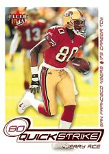 2001 Ultra Quick Strike #5 Jerry Rice 49ers