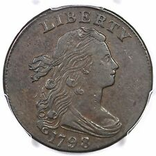 1798 S-175 R-3 PCGS XF 45 2nd Hair Small 8 Draped Bust Large Cent Coin 1c