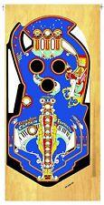BALLY CAPTAIN FANTASTIC Pinball Machine Playfield Overlay