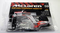 Kyosho Kits 1/8 scale Diecast 059 McLaren MP4-23 F1 Magazine subscription part