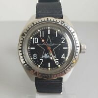 Wrist Watch Komandirskie Amfibia 200m Military Soviet Vostok