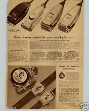 1942 PAPER AD Character Wrist Pocket Watch Mickey Mouse The Lone Ranger