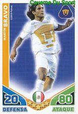 058 MARTIN BRAVO PUMAS UNAM ARGENTINA CARD ESTRELLAS MONDIALES 2010 TOPPS