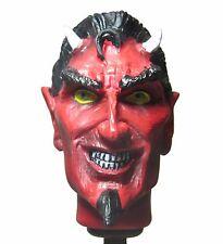 New! Red Devil Skull Shift Knob Sold Resin Rat Rod Gear Lever Hot rod