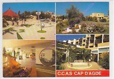 CPSM 34300 CAP D AGDE Village de vacances C.C.A.S.multivues 4 vues Edt SL n3