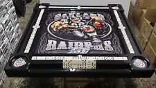 Oakland Raiders Domino Table by Domino Tables by Art