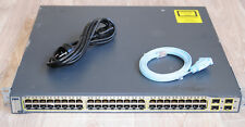Cisco WS-C3750G-48TS-E Layer3 Latest IOS Gigabit Switch Enhance WS-C3750G-48TS-S