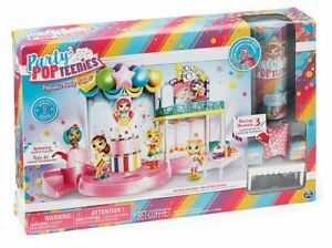 Party PopTeenies Poptastic Party Confetti Doll Playset Exclusive Collectible NEW