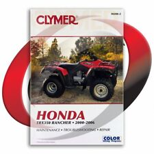 2000-2006 Honda TRX350TM FourTrax Rancher Repair Manual Clymer M200-2 Service