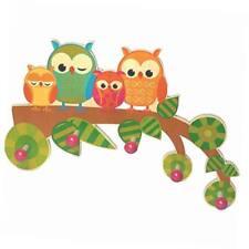 Holzspielzeug Wandgarderobe Kindergarderobe Kleiderhakenleiste Holzgarderob