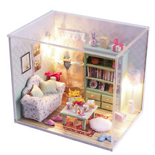 DIY Handcraft Miniature Project Wooden Dolls House My Little Bedroom 2017 M013