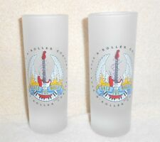 DISNEY MGM STUDIOS ROCK N ROLLER COASTER SHOT GLASS LOT OF 2