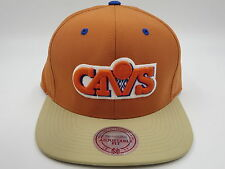 Cleveland Cavaliers Mitchell & Ness NBA Retro Throwback Strapback Hat Cap