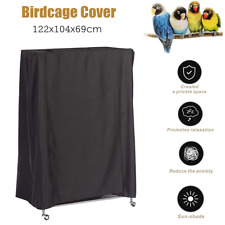 Large Bird Cage Cover Lightweight Solid Pet Parrot Good Sleep Helper Dustproof