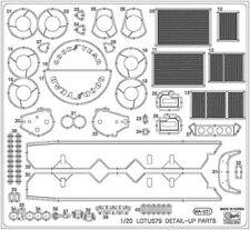 Hasegawa 1/24 aguafuerte Partes Para Lotus 79 #qg43