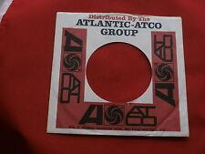 "ATLANTIC~#- 2 ~ ORIGINAL COMPANY SLEEVE ~ 7"" SINGLE 45 RPM"