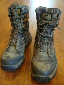 RED WING Irish Setter 800 Gram Shadow Trek Hunting Boots Mens Size 10.5 Gore Tex