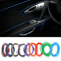 Shiny 5m Car Flexible Interior Moulding Decorative Strip Trim Line Accessories