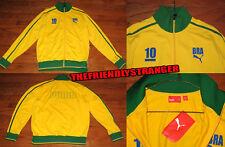 "Rare PUMA ""BRAZIL"" JACKET #10 NWT - SIZE M MEDIUM - World Cup BRAND NEW w/ TAGS"