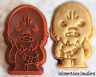 Chewbacca Star Wars Cookie Cutter Wookie Cookie Biscuit Baking Ceramics Pottery