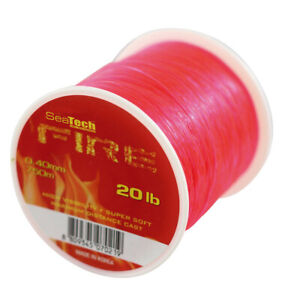 SeaTech Extra Strong Sea Fishing Line Various Colours and Sizes 10lb - 80lb