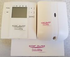 Thermostat sans fil WiFi d'ambiance connecté GDF-SUEZ DolceVita programmable NEW