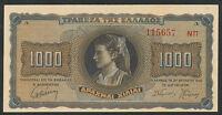 Griechenland / Greece 1000 Drachmen 1942 Pick 118 (1)