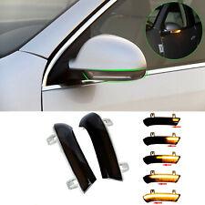 Dynamic LED Turn Signal Light Rearview Mirror for VW Golf 5 Jetta MK5 Passat B6
