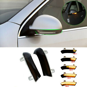 Dynamic LED Turn Signal Light Rearview Mirror for VW Golf 5 Jetta MK5 Passat B6