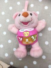Vtech Piccolo Orso CANTERINO rosa giocattolo... Light Up. MUSICAL. pre scuola età giocattolo