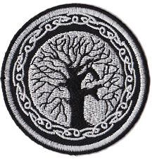 Patch écusson patche Arbre de vie celte thermo Yggdrasil celtique tree life