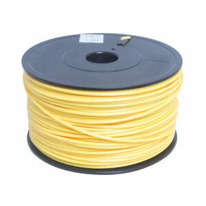 3D Printer Filament ABS3 yellow colour 1kg/2.2lb 3mm 150M lengths