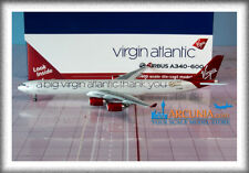 "Gemini Jets 1:400 Virgin Atlantic Airbus a340-600 ""Thank You - G-VNAP"" GJVIR1766"
