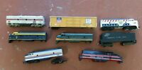 Miscellaneous Train Cars lot of 8 G