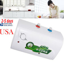 【USA SHIP】30℃~65℃ 8L Tank Electric Hot Water Heater Home Bathroom Kitchen FDA