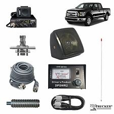 Pro Trucker Pickup CB Radio Kit Includes Radio, 4' Antenna, CB Antenna Mount, CB