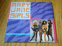 "MARY JANE GIRLS - WILD AND CRAZY LOVE    7"" VINYL PS"