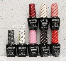 OPI GelColor Kit >SET OF 6 COLOUR + BASE & TOP Coat Soak Off UV Led Gel Nail Lot