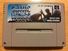 Super Famicom Sonic Wings Japan SFC SNES