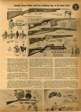 1962 PAPER AD Toy Dick Tracy Squad Gun Cork Air Rifle Plastic Balls The Rebel TV